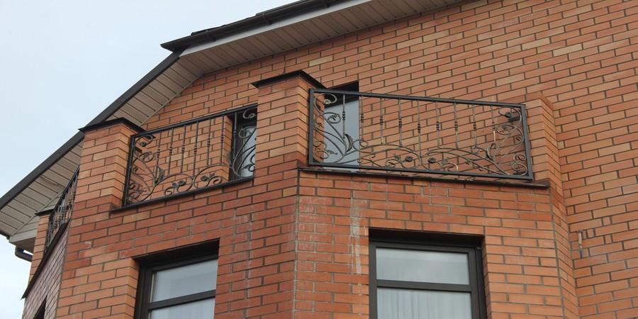 Балконы, поручни, перила