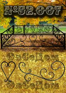 Кованая ограда. Олседом