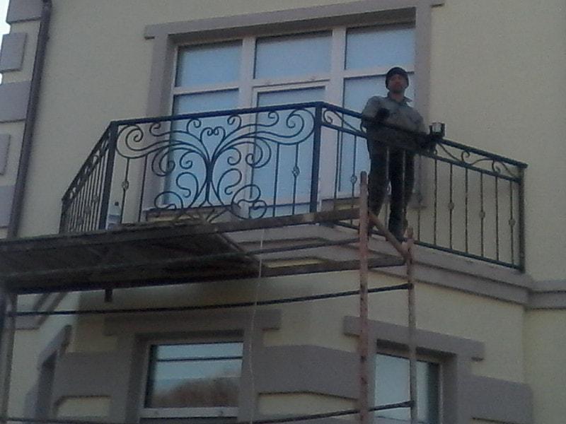 Кованый балкон. ОлСеДом