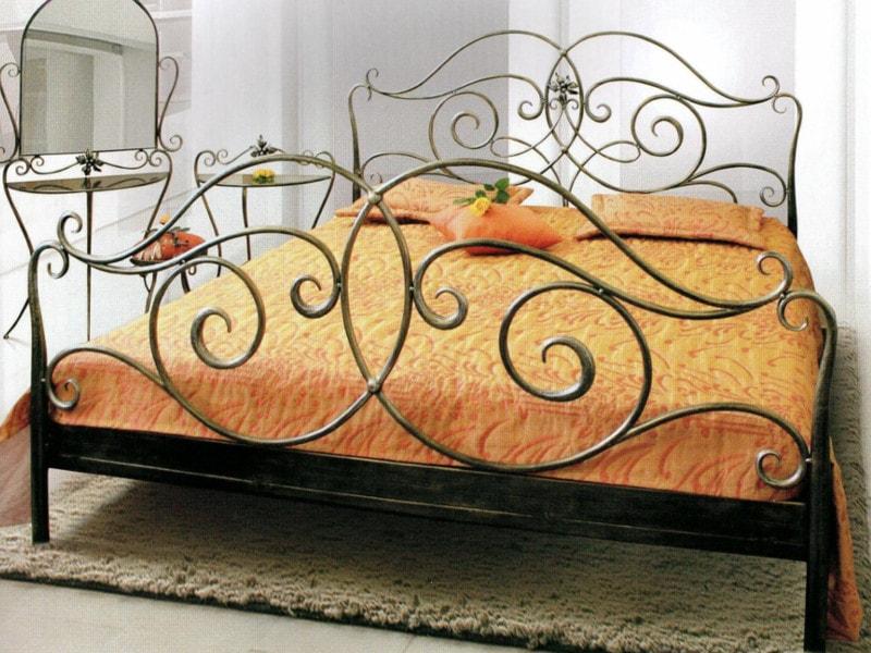 Кованая кровать. ОлСеДом