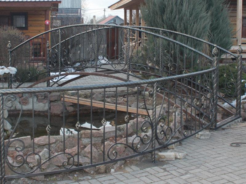 Кованый мостик. ОлСеДом