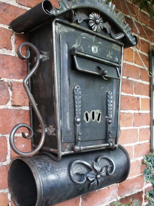 Кованый почтовый ящик. ОлСеДом