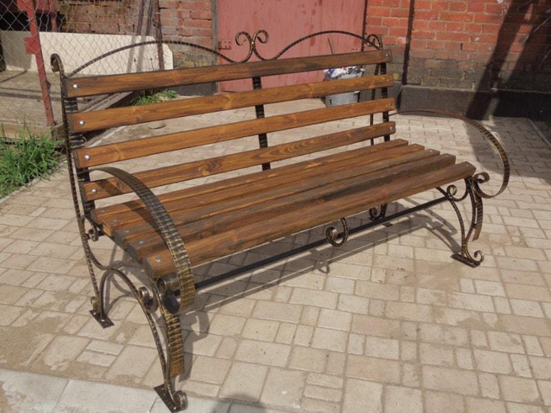 Кованая скамейка. ОлСеДом