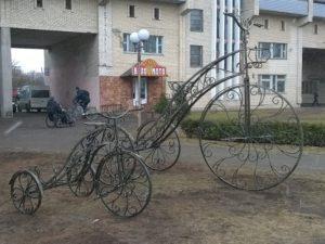 Кованый велосипед. ОлСеДом