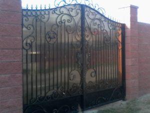 Кованые ворота. ОлСеДом
