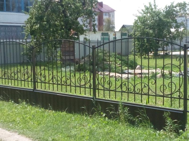 Кованый забор. ОлСеДом